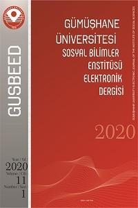 Gümüşhane Üniversitesi Sosyal Bilimler Enstitüsü Elektronik Dergisi