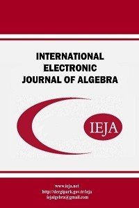 International Electronic Journal of Algebra