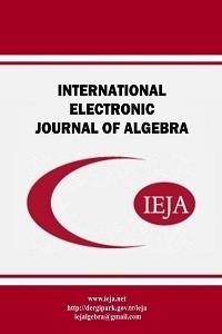 International Electronic Journal of Algebra