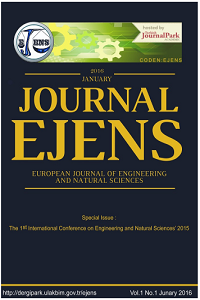 European Journal of Engineering and Natural Sciences