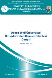 Dokuz Eylül University Faculty of Economics and Administrative Sciences Journal