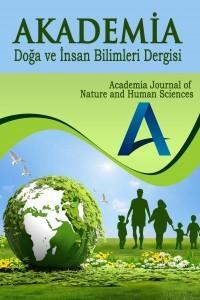 Akademia Doğa ve İnsan Bilimleri Dergisi