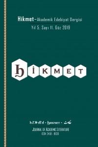 Hikmet-journal of academic literature