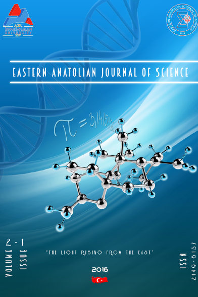 Eastern Anatolian Journal of Science