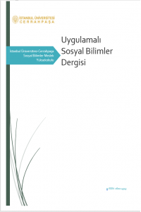 Applied Social Sciences Journal of Istanbul University-Cerrahpasa