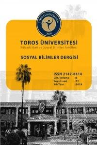 Toros Üniversitesi İİSBF Sosyal Bilimler Dergisi