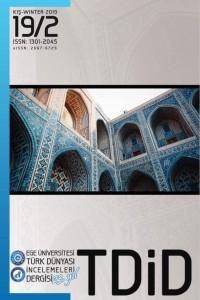Türk Dünyası İncelemeleri Dergisi