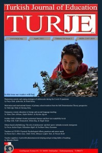 Turkish Journal of Education
