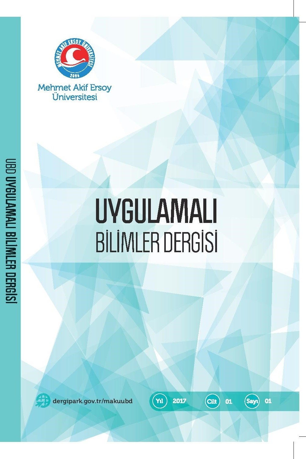 Journal of Applied Sciences of Mehmet Akif Ersoy University