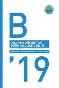 Cukurova University Faculty of Education Journal