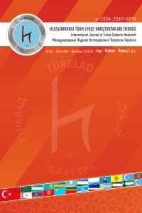 Uluslararası Türk  Lehçe Araştırmaları Dergisi (TÜRKLAD)