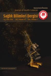 Süleyman Demirel Üniversitesi Sağlık Bilimleri Dergisi
