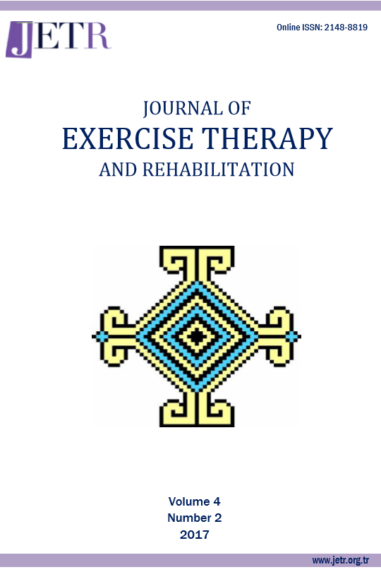 Journal of Exercise Therapy and Rehabilitation