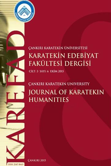 Çankırı Karatekin Üniversitesi Karatekin Edebiyat Fakültesi Dergisi