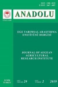 ANADOLU Journal of Aegean Agricultural Research Institute