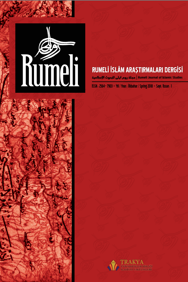 Rumeli Journal of Islamic Studies