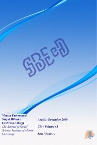 Mersin Üniversitesi Sosyal Bilimler Enstitüsü Dergisi
