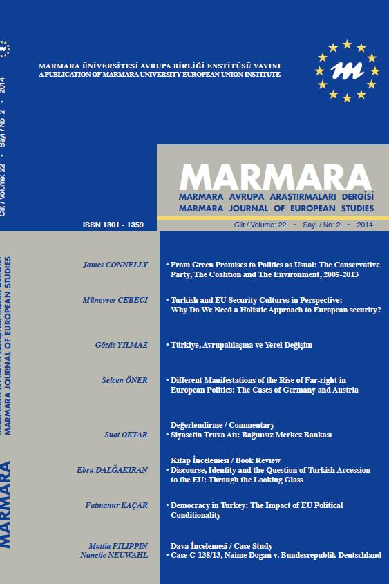 Marmara Journal of European Studies