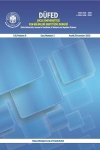Dicle Üniversitesi Fen Bilimleri Enstitüsü Dergisi