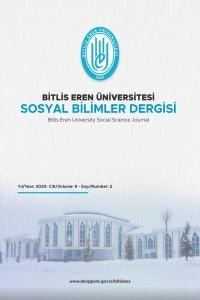 Bitlis Eren Üniversitesi Sosyal Bilimler Dergisi