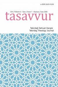 Tasavvur / Tekirdag Theology Journal