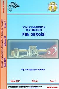 Selçuk Üniversitesi Fen Fakültesi Fen Dergisi