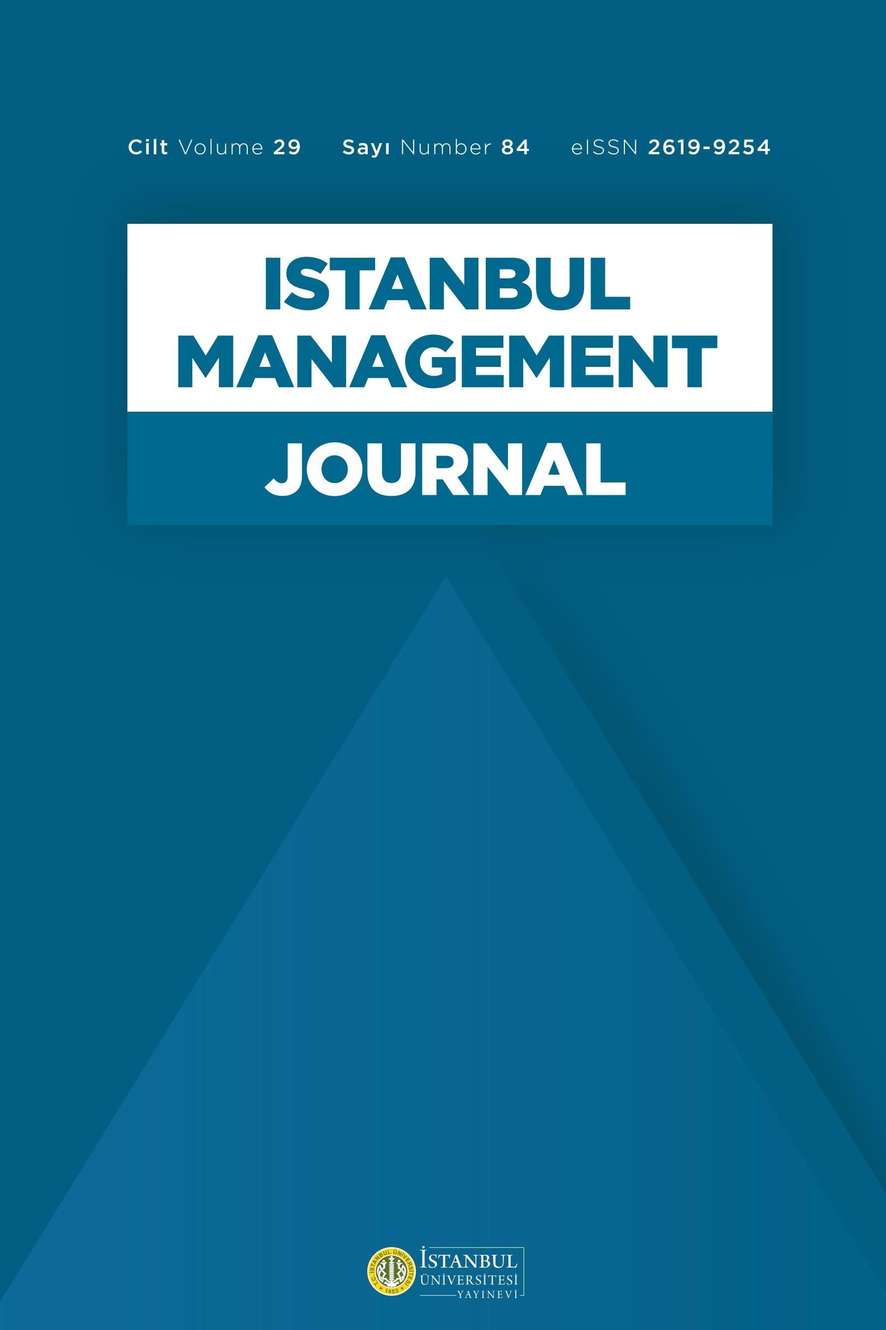 İstanbul Üniversitesi İşletme Fakültesi İşletme İktisadı Enstitüsü Yönetim Dergisi