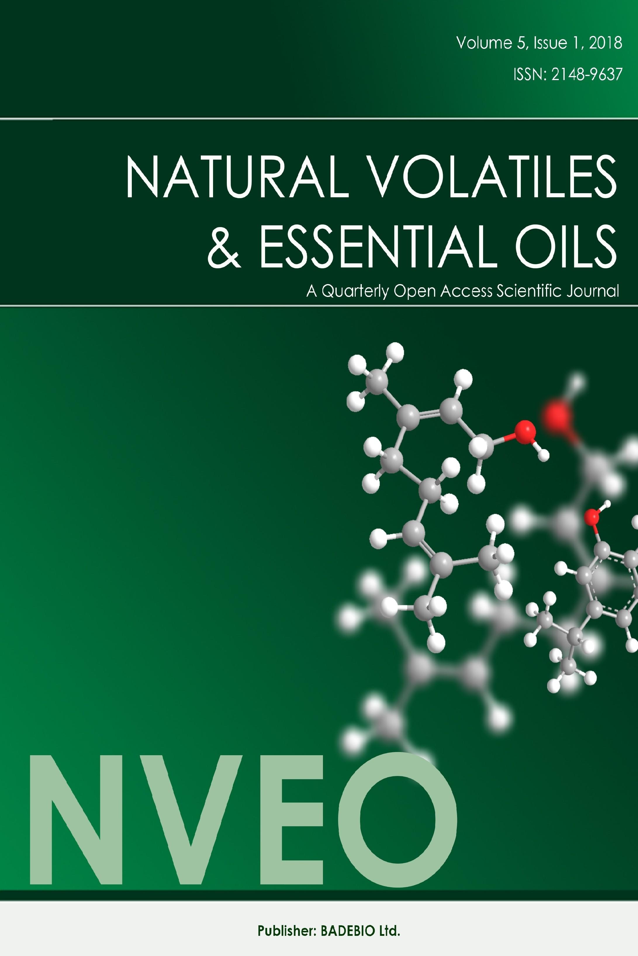 Natural Volatiles and Essential Oils » Dergi Natural Volatiles and