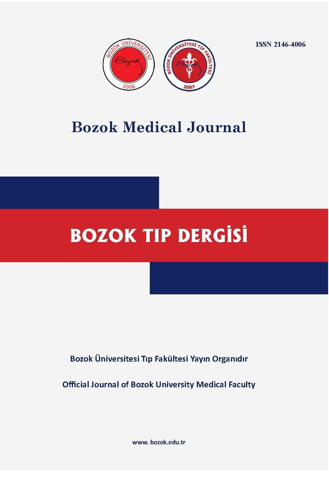 Bozok Medical Journal
