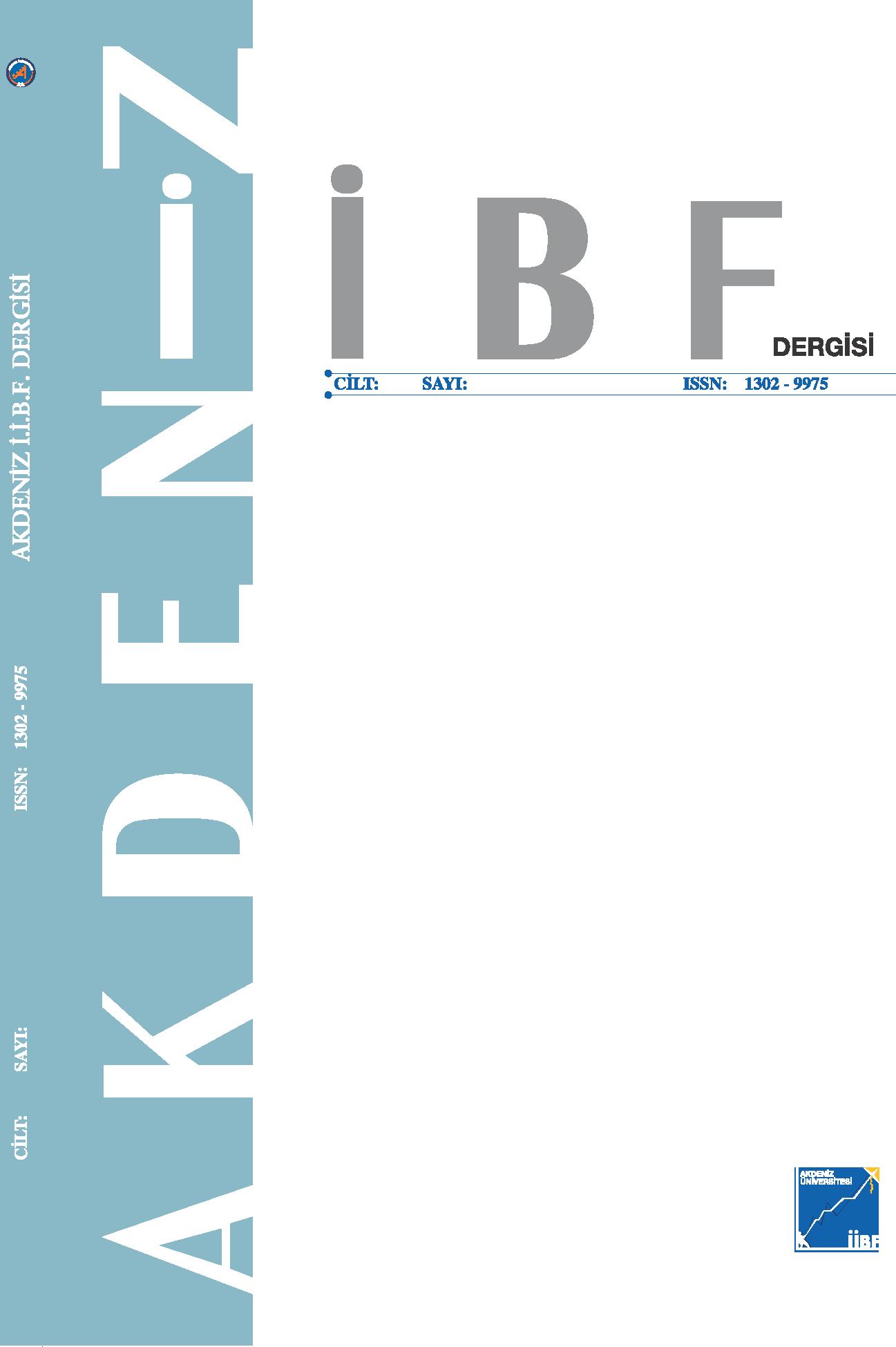 Akdeniz İİBF journal