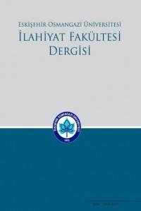 Eskişehir Osmangazi Üniversitesi İlahiyat Fakültesi Dergisi