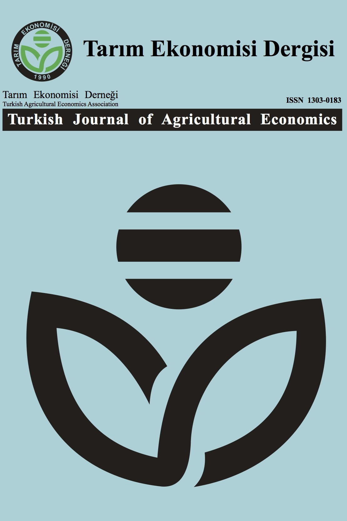 Turkish Journal of Agricultural Economics