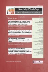 BİLTÜRK Journal of Economics and Related Studies