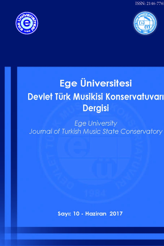 Ege Üniversitesi Devlet Türk Musikisi Konservatuvarı Dergisi