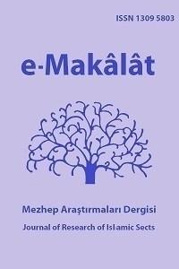 e-Makalat Mezhep Araştırmaları Dergisi