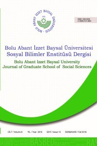Bolu Abant İzzet Baysal University Journal of Graduate School of Social Sciences