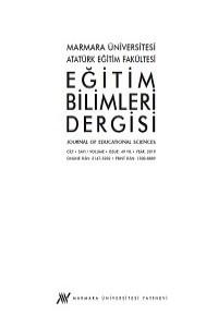 Marmara Üniversitesi Atatürk Eğitim Fakültesi Eğitim Bilimleri Dergisi
