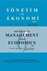 Yönetim ve Ekonomi: Celal Bayar Üniversitesi İktisadi ve İdari Bilimler Fakültesi Dergisi