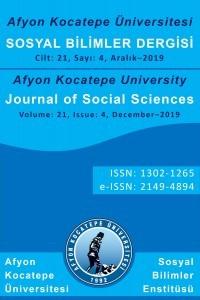 Afyon Kocatepe Üniversitesi Sosyal Bilimler Dergisi