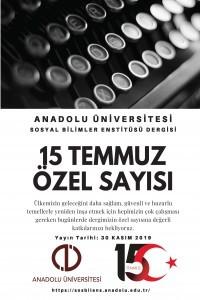Anadolu Üniversitesi Sosyal Bilimler Dergisi