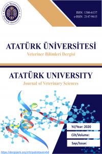 Atatürk Üniversitesi Veteriner Bilimleri Dergisi