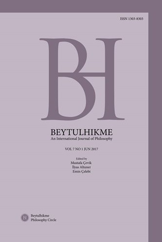 Beytulhikme An International Journal of Philosophy