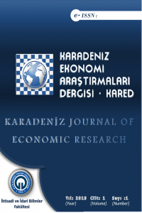 Karadeniz Journal of Economic Research