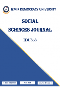 Izmir Democracy University Social Sciences Journal