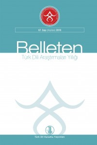Yearbook of Turkic Studies - Belleten