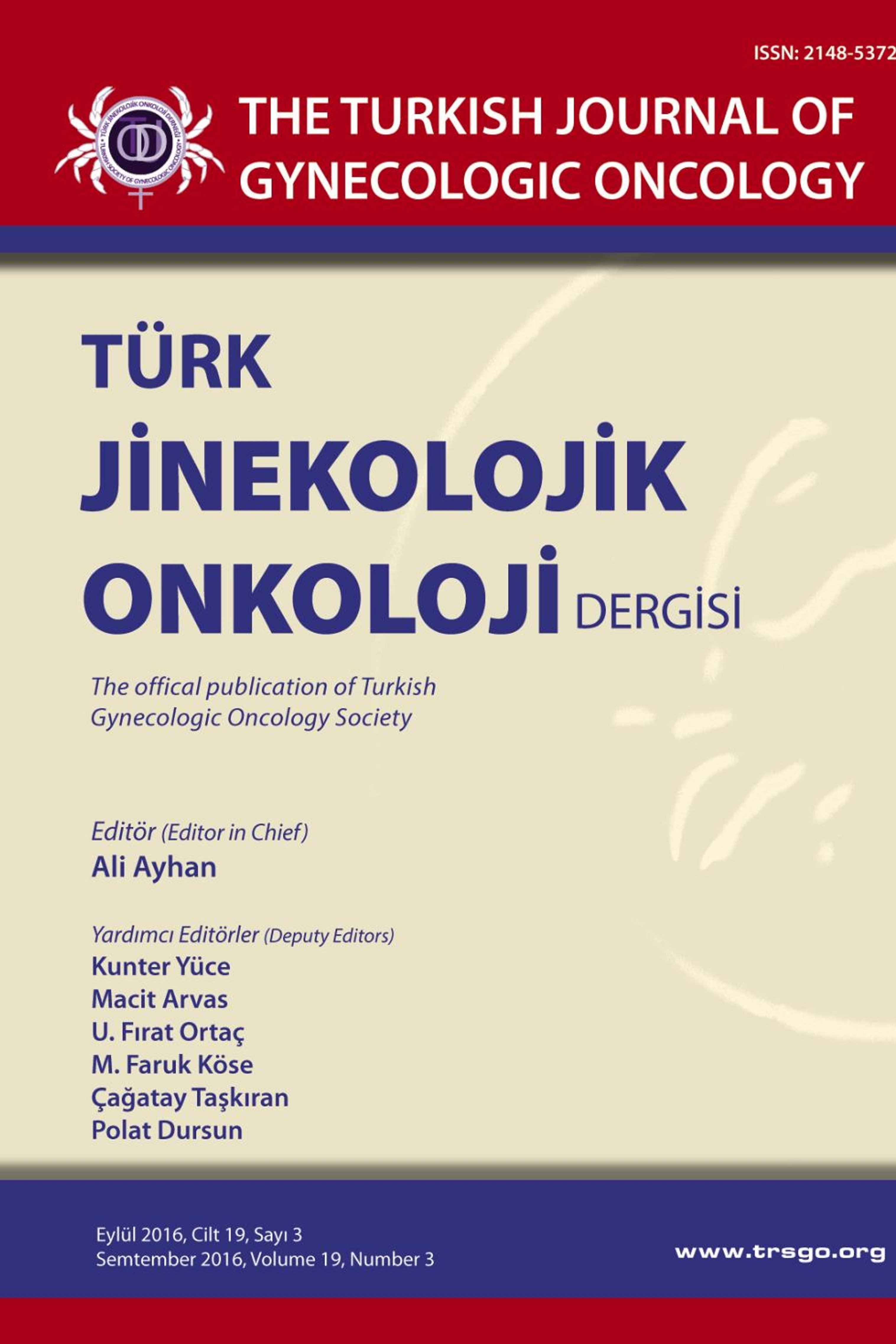 The Turkish Journal of Gynecologic Oncology