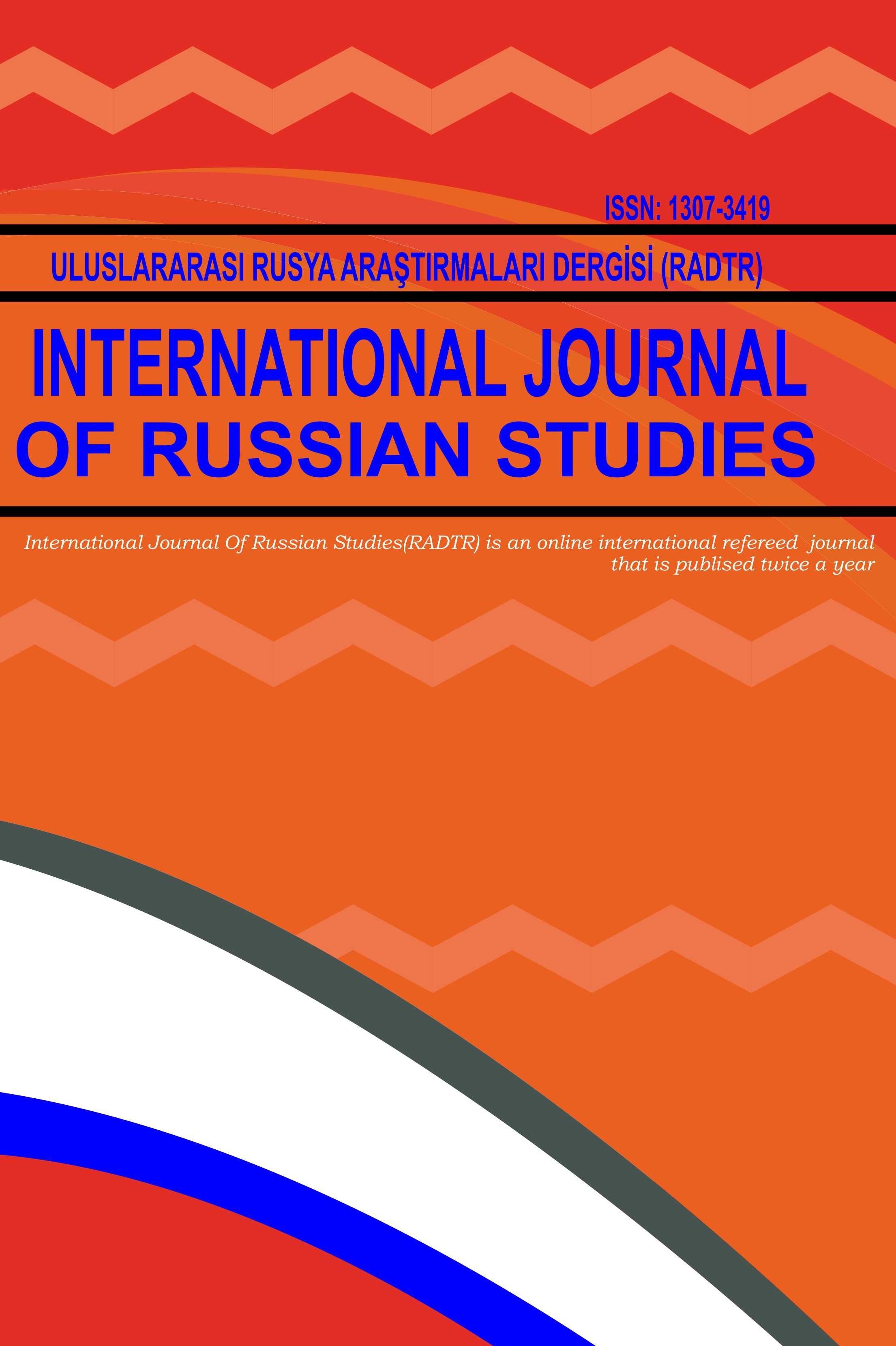 International Journal of Russian Studies