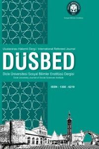 Dicle Üniversitesi Sosyal Bilimler Enstitüsü Dergisi