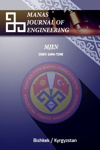 MANAS Journal of Engineering