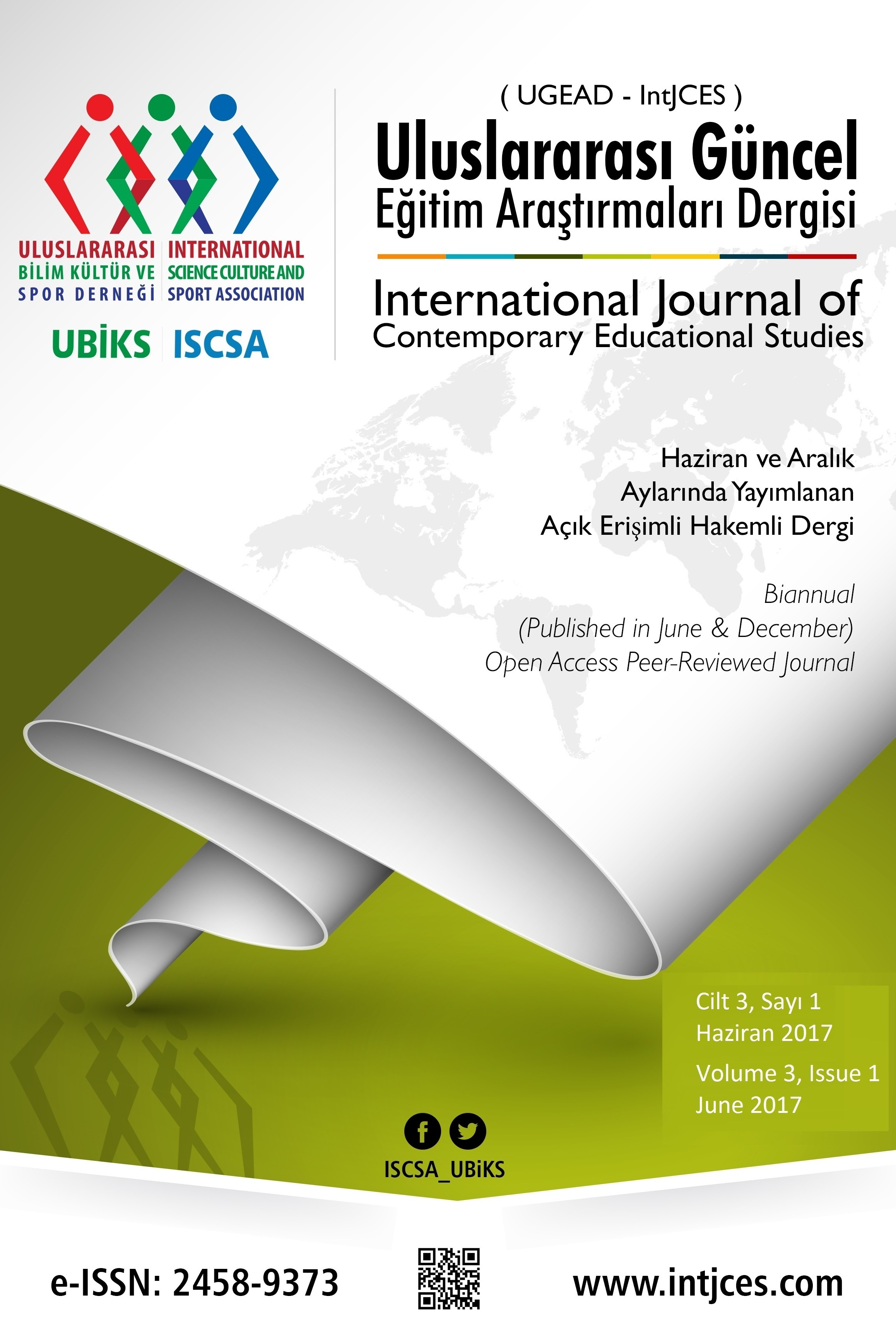 International Journal of Contemporary Educational Studies (IntJCES)
